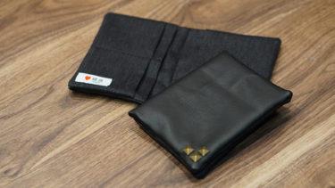 レザー×デニム パスポートケース
